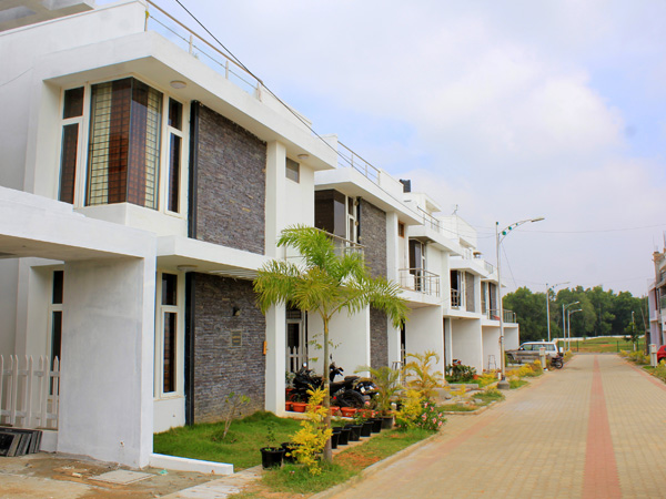JR Greenpark - New plots for sale in Suryanagar Phase II