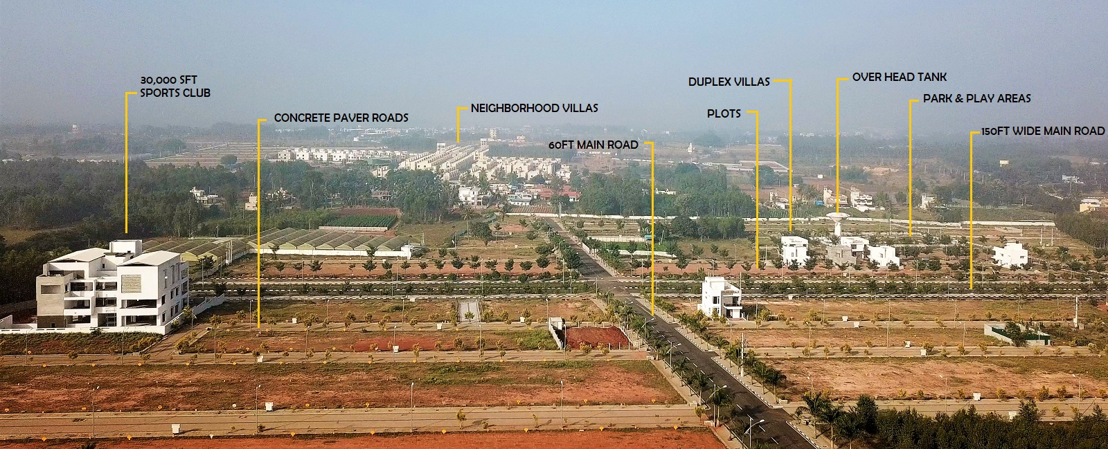 Sites for sale in Surya city
