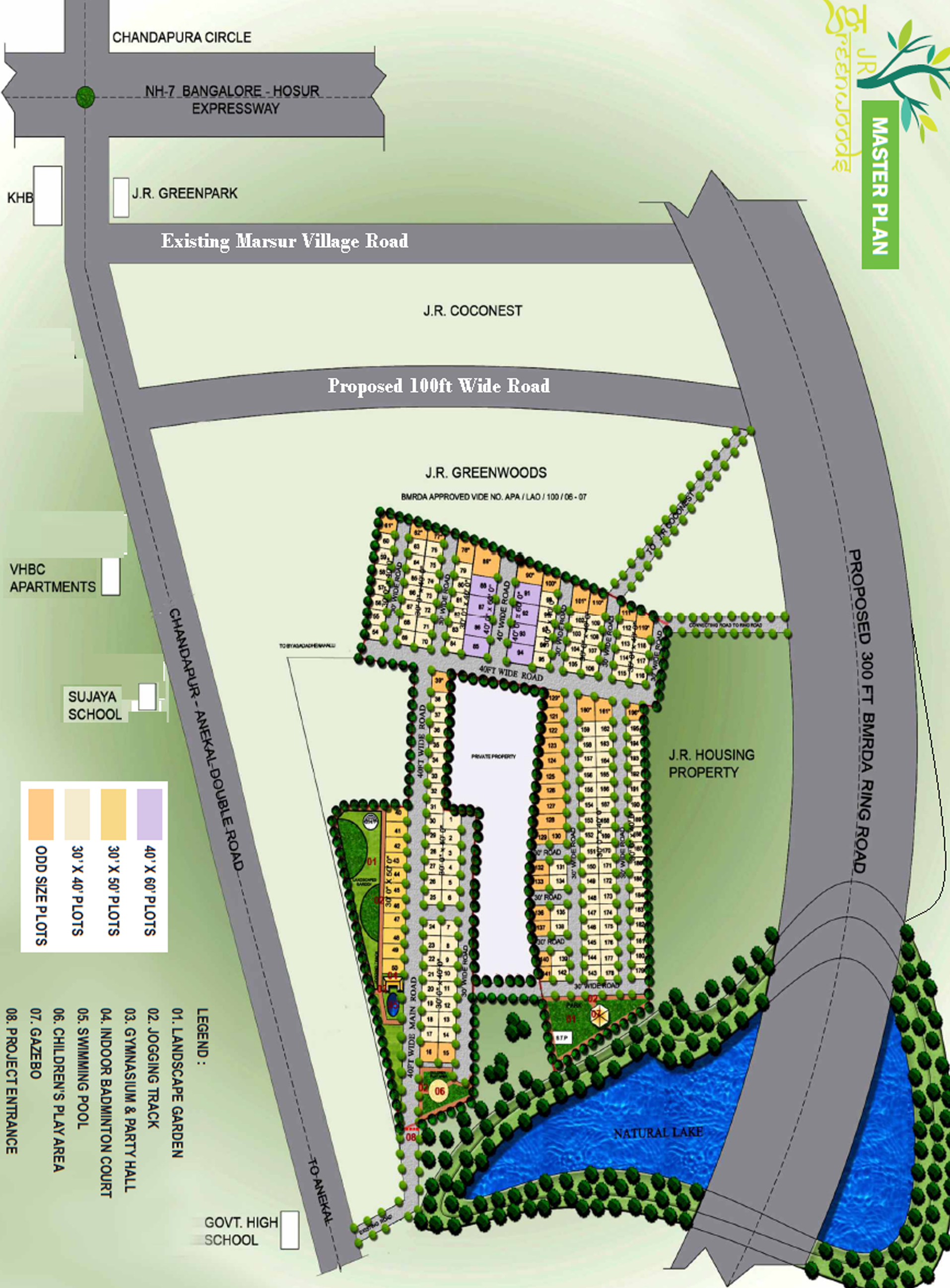 Plots For Sale In Chandapura Residential Plots For Sale